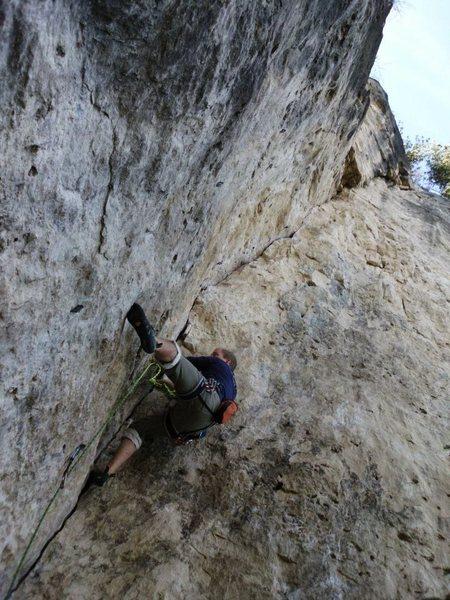 Rock Climbing Photo: Migraine