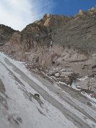 Rock Climbing Photo: Long's Peak.