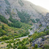 A nice view of Blacksmith Fork Canyon