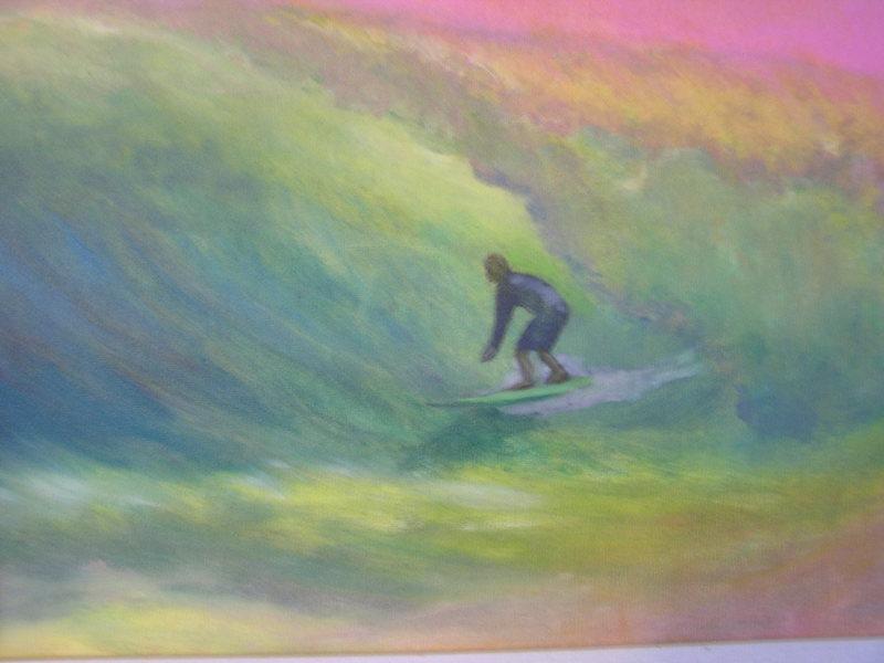 Olaf's Dream<br> original oil by Karen Lang