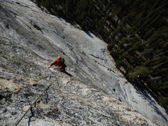 Rock Climbing Photo: nearly there
