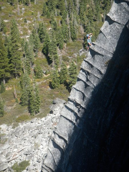 Rock Climbing Photo: light
