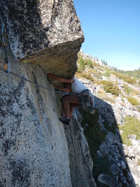 Rock Climbing Photo: wear a helmet