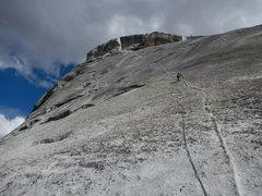 Rock Climbing Photo: dykey