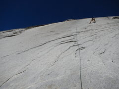 Rock Climbing Photo: not one for a hot day. goes a lot more right than ...