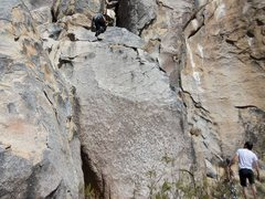 Rock Climbing Photo: Another High Desert Problem that I cannot recall m...