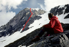 Rock Climbing Photo: The North Rib of Mount Dana. You could continue up...