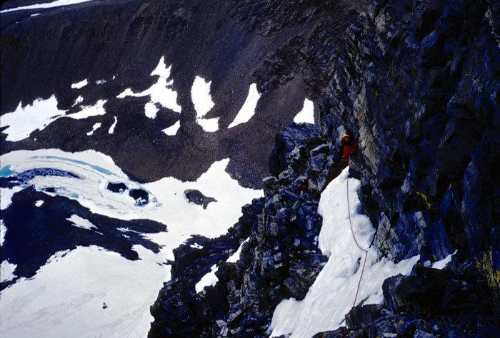 Rock Climbing Photo: North Rib