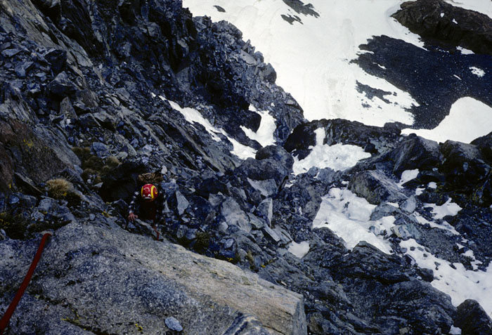 Rock Climbing Photo: North Rib
