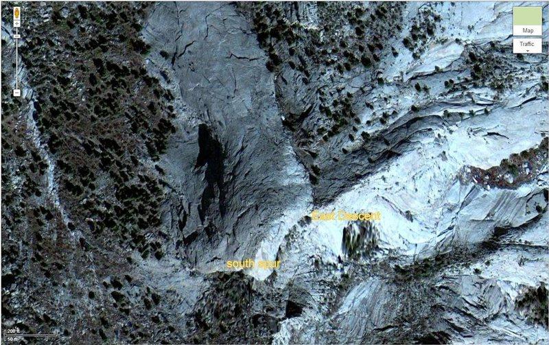 sugarloaf satellite image.<br>