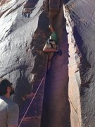 Rock Climbing Photo: Climbing El Cracko Diablo