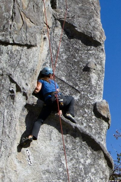 Rock Climbing Photo: Interesting features!