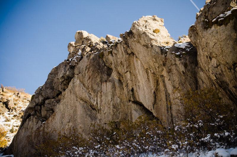 Rock Climbing Photo: Reef