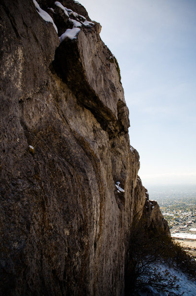 Rock Climbing Photo: Grid bolt Reef