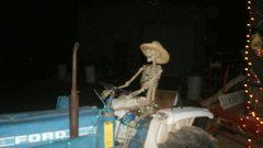 Rock Climbing Photo: tractor man