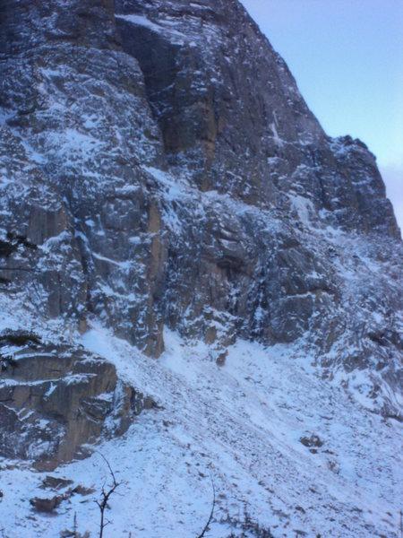 Rock Climbing Photo: Lean, mean. 10/26/12.