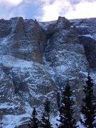 Rock Climbing Photo: Deep Freeze, 10/26/12.