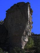 Rock Climbing Photo: Unknown climber sending.