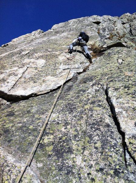 Rock Climbing Photo: Up on the ridge