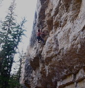 Rock Climbing Photo: gettin worked