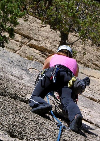 Rock Climbing Photo: Me on Rasta Man.