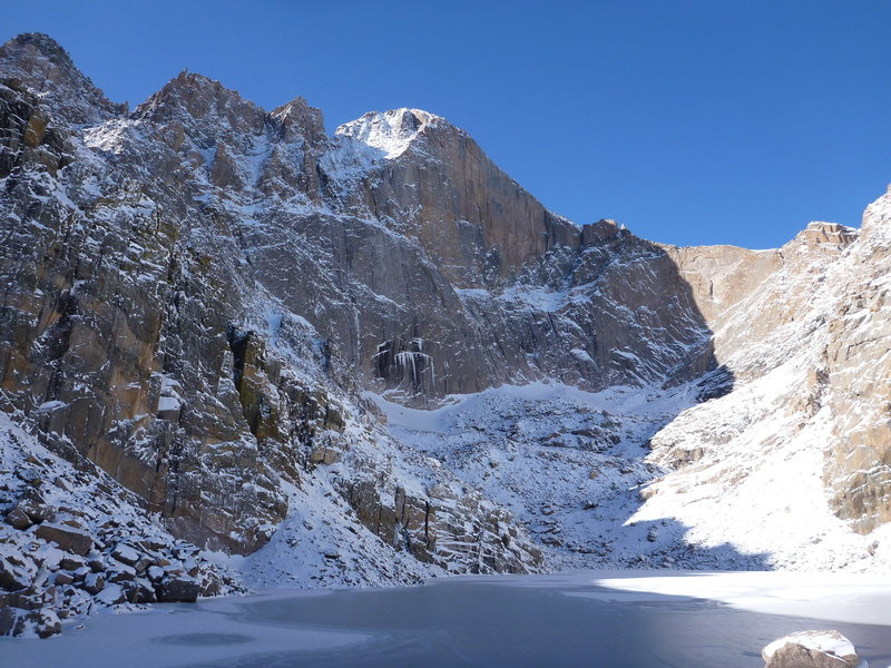 Long's Peak - Chasm Lake.