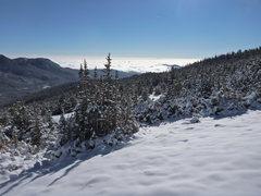 Rock Climbing Photo: Long's Peak Trail - towards Twin Sisters.