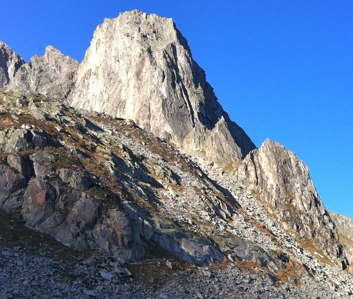 Bergsee sudgrat.