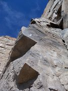Rock Climbing Photo: Very fun moves on this arete/direct start!