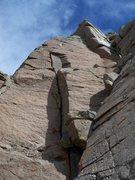 Rock Climbing Photo: Fun variation!