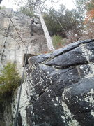 Rock Climbing Photo: Tim Dufrane on Small Craft Advisory