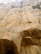 Rock Climbing Photo: The stemming corner in the center leads to a finis...