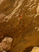 Rock Climbing Photo: Easy jugs to start