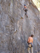 Rock Climbing Photo: i really wish this climb could go on longer!