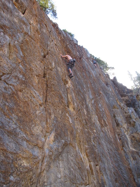 Rock Climbing Photo: you will find interesting features on this rock