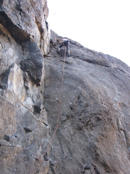 Rock Climbing Photo: classically fun route, my go to warm up