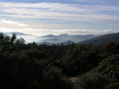 Rock Climbing Photo: A view from the firebreak.  Hard to believe this i...