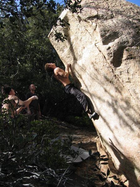 Rock Climbing Photo: Evolver (V5), Far Side area.