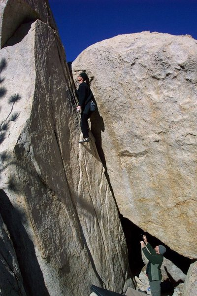 Rock Climbing Photo: You Wanna F*** With Conan?!? in the Titanium Man a...