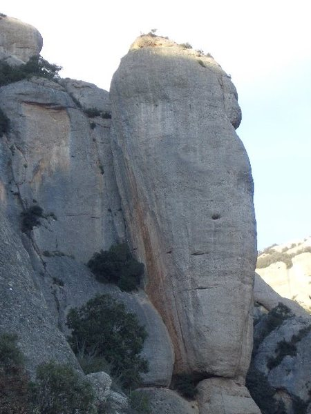Rock Climbing Photo: Agulla Fina. Montserrat.
