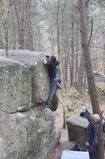 Rock Climbing Photo: Franchard Hautes Planes. Fontainebleau
