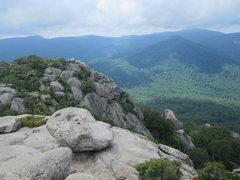 Rock Climbing Photo: Old Rag during the forbidden season