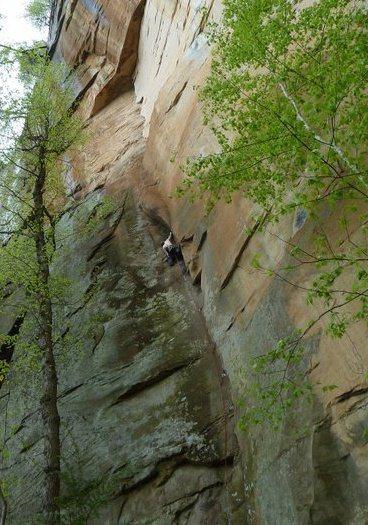 Rock Climbing Photo: Autumn