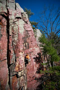 Rock Climbing Photo: Keller of the HWDAMF sending Callipigeanous Crack ...