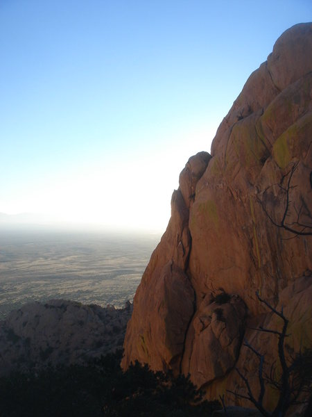 Rock Climbing Photo: Muttonhead from the Sheepshead descent, near sunse...