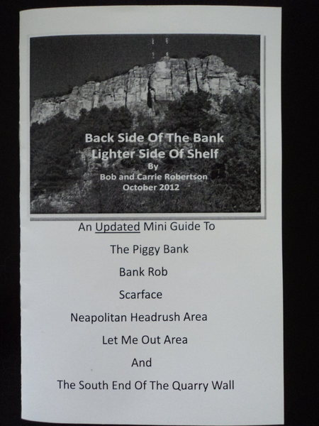 Rock Climbing Photo: Back Side Of The Bank. Lighter Side Of Shelf.  by ...