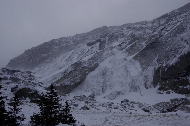 Rock Climbing Photo: Black Lake Slabs: 10-27-12.