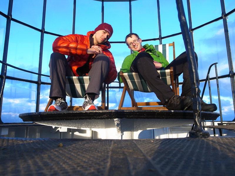 Rock Climbing Photo: lighthouse is a blast. Insitu deckchairs, quintess...