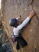 Rock Climbing Photo: Cassondra on Breakaway.