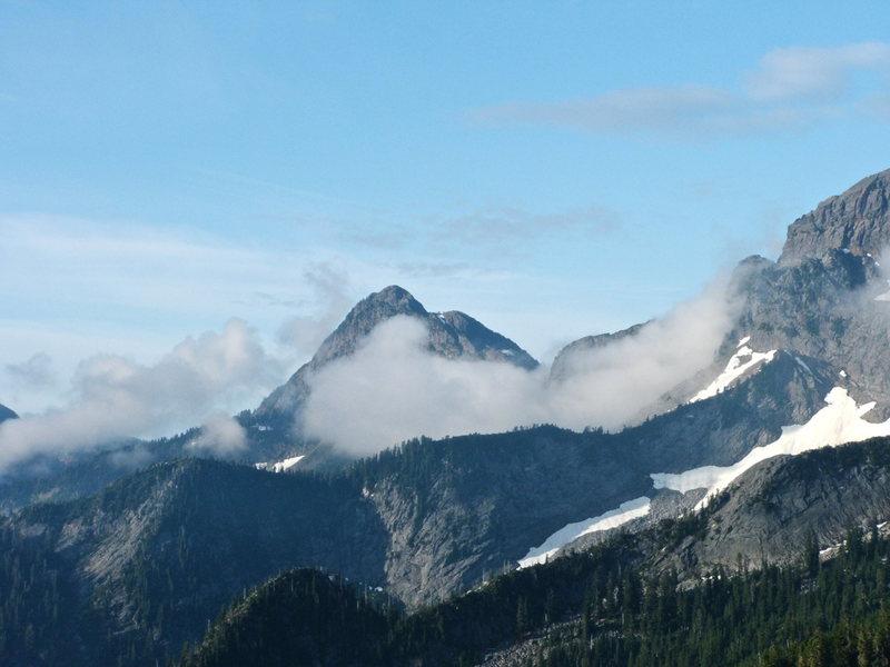 Rock Climbing Photo: Liberty Peak
